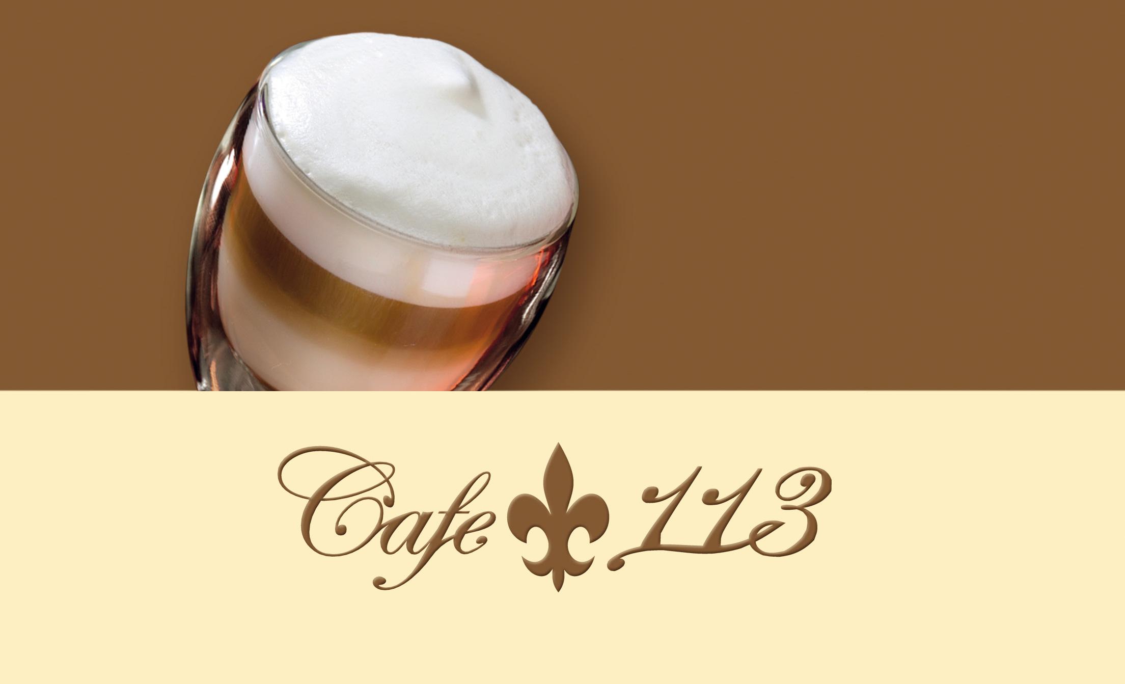 E-Paper Karte Cafe 113